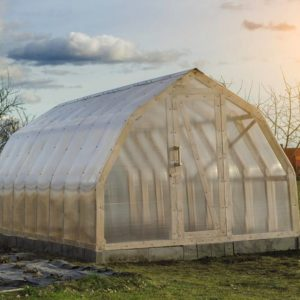 grand tunnel de jardin en polycarbonate 3x6 18m2 serres. Black Bedroom Furniture Sets. Home Design Ideas